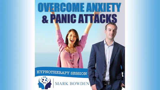 Instant Access to Overcome Anxiety and Panic Attacks Hypnosis Audio by Mark Bowden Ltd, powered by Intelivideo