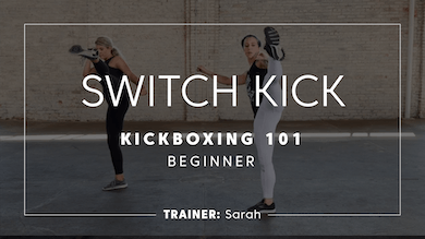 Kickboxing 101 | Switch Kick by TITLE Boxing Club