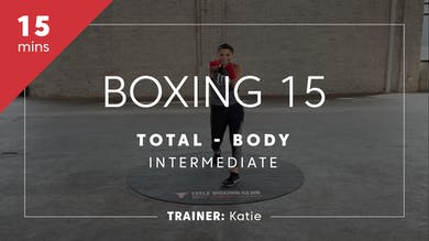 Boxing 15 with Katie | Total-Body Intermediate by TITLE Boxing Club