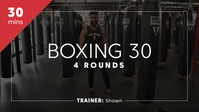 Boxing 30 with Shawn by TITLE Boxing Club