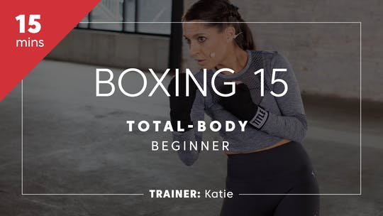 Instant Access to Boxing 15 with Katie | Total-Body Beginner by TITLE Boxing Club, powered by Intelivideo