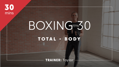 Boxing 30 with Taylor by TITLE Boxing Club
