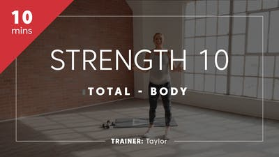 Strength 10 with Taylor by TITLE Boxing Club