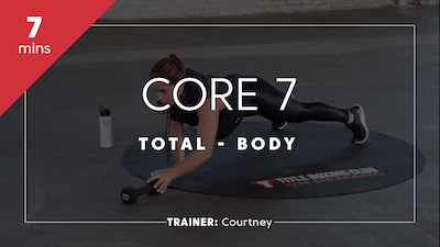 Core 7 with Courtney by TITLE Boxing Club