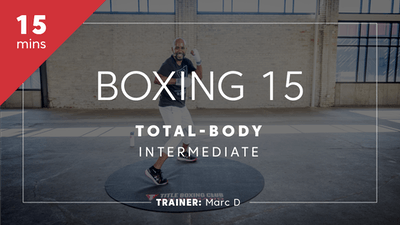 Boxing 15 with Marc by TITLE Boxing Club