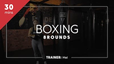 Boxing 8 Rounds with Melanie by TITLE Boxing Club