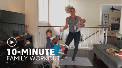 10-Minute Family Workout by TITLE Boxing Club