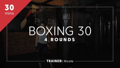 Boxing 30 with Nicole by TITLE Boxing Club