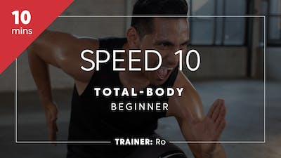 Instant Access to Speed & Agility 10 with Ro | Total-Body Beginner by TITLE Boxing Club, powered by Intelivideo