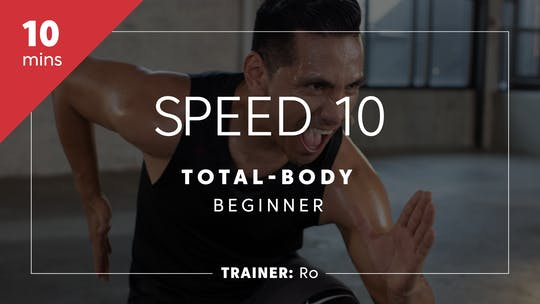 Get access to Speed & Agility 10 with Ro | Total-Body Beginner by TITLE Boxing Club