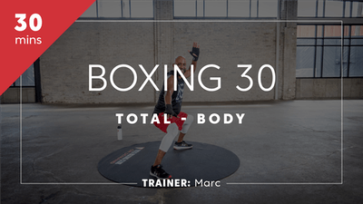 Boxing 30 with Marc by TITLE Boxing Club