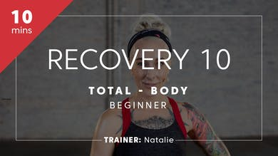 Recovery 10 with Natalie by TITLE Boxing Club