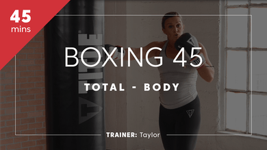 Boxing 45 with Taylor by TITLE Boxing Club