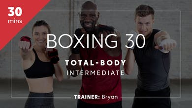 Boxing 30 with Bryan | Total-Body Intermediate by TITLE Boxing Club