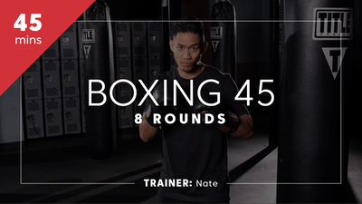 Boxing 45 with Nate by TITLE Boxing Club