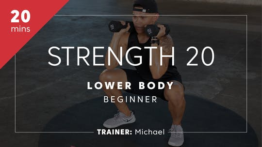 Get access to Strength & Power 20 with Michael | Lower Body Beginner by TITLE Boxing Club