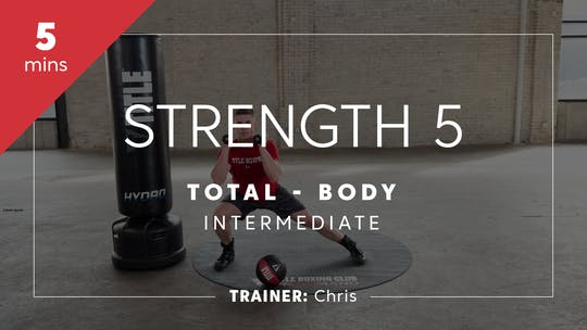 Get access to Strength 5 with Chris by TITLE Boxing Club