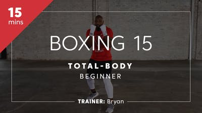 Instant Access to Boxing 15 with Bryan | Total-Body Beginner by TITLE Boxing Club, powered by Intelivideo