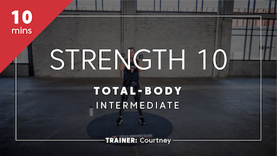 Strength 10 with Courtney by TITLE Boxing Club