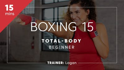 Instant Access to Boxing 15 with Logan | Total-Body Beginner by TITLE Boxing Club, powered by Intelivideo