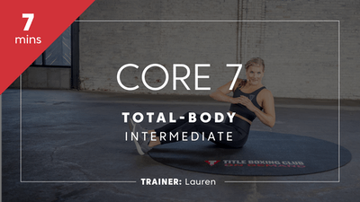 Core 7 with Lauren by TITLE Boxing Club