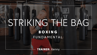 Fundamental | Striking the Bag by TITLE Boxing Club