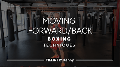 Techniques | Moving Forward & Backwards by TITLE Boxing Club