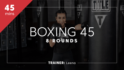 Boxing 45 with Leena by TITLE Boxing Club
