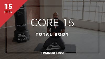 Core 15 with Marc by TITLE Boxing Club