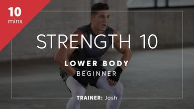 Strength 10 with Josh | Lower Body Beginner by TITLE Boxing Club