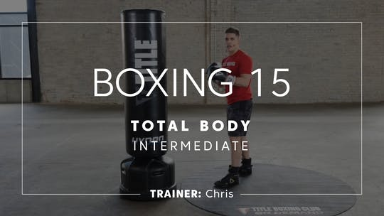 Get access to Boxing 15 with Chris | Total-Body Intermediate by TITLE Boxing Club