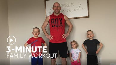 3-Minute Family Workout by TITLE Boxing Club