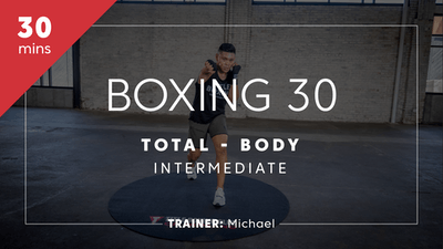 Boxing 30 with Michael | Total-Body Intermediate by TITLE Boxing Club