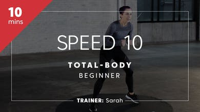 Speed 10 with Sarah by TITLE Boxing Club