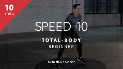 Instant Access to Speed 10 with Sarah | Total-Body Beginner by TITLE Boxing Club, powered by Intelivideo
