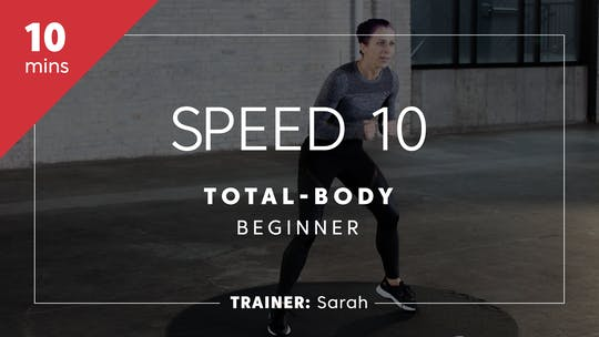 Get access to Speed 10 with Sarah | Total-Body Beginner by TITLE Boxing Club