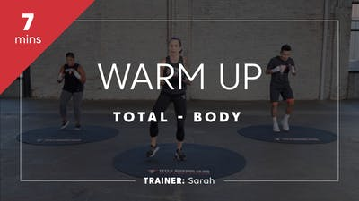 Warm Up 7 with Sarah by TITLE Boxing Club