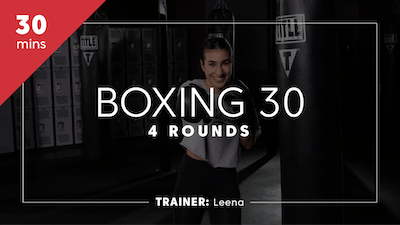 Boxing 30 with Leena by TITLE Boxing Club
