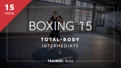 Boxing 15 with Nate | Total-Body Intermediate by TITLE Boxing Club
