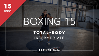 Boxing 15 with Nate | Total-Boday Intermediate by TITLE Boxing Club