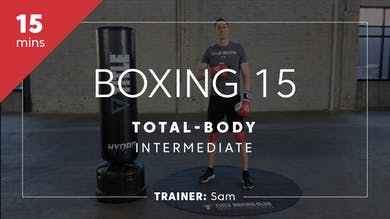 Boxing 15 with Sam | Total-Body Intermediate by TITLE Boxing Club