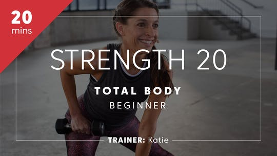 Get access to Strength 20 with Katie | Lower Body Beginner by TITLE Boxing Club