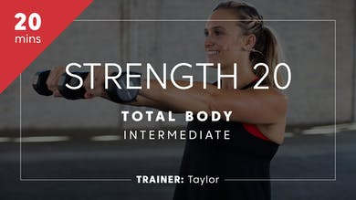 Strength 20 with Taylor | Total-Body Intermediate by TITLE Boxing Club