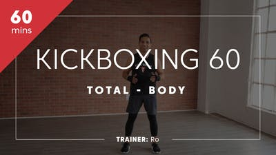 Kickboxing 60 with Ro by TITLE Boxing Club