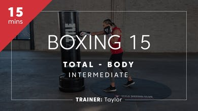 Boxing 15 with Taylor | Total-Body Intermediate by TITLE Boxing Club