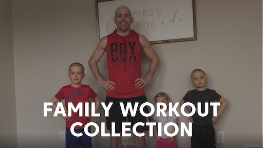 Family Workout Collection by TITLE Boxing Club