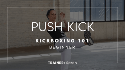 Kickboxing 101 | Push Kicks by TITLE Boxing Club