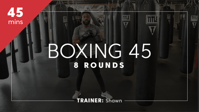 Boxing 45 with Shawn by TITLE Boxing Club