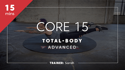 Core 15 with Sarah by TITLE Boxing Club