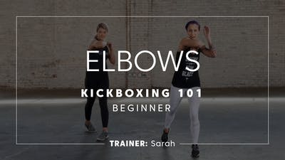 Kickboxing 101 | Elbows by TITLE Boxing Club